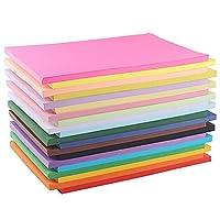 2個セット折り紙A4カラーペーパー印刷用紙カット紙幼稚園手作り厚紙 折り紙ペーパーカット紙