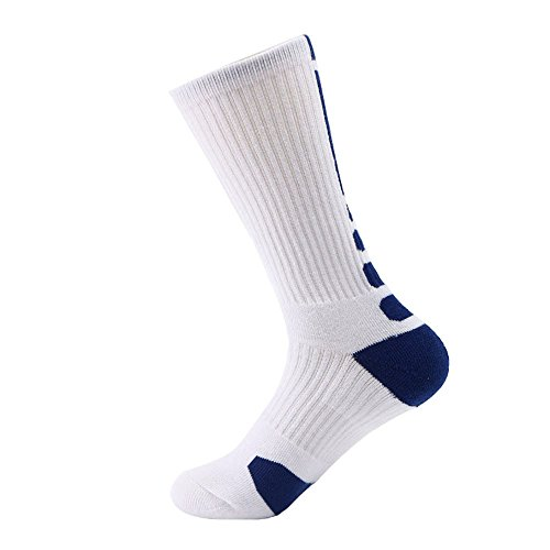 ZZBO Herren-Schlauchstrümpfe Winter Warm Socken Bequeme Skateboard Socke Business Baumwollesocken Elastische Sneaker Socken Atmungsaktiv Freizeit Laufsocken