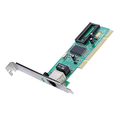 Tangxi Gigabit Ethernet PCI Express, Scheda di Rete PCIe a 1 Porte Scheda di Rete Scheda Ethernet,10 100 1000Mbps Adattatore LAN RJ45 con Chip RTL8169,Doppio Filtro per PC Desktop