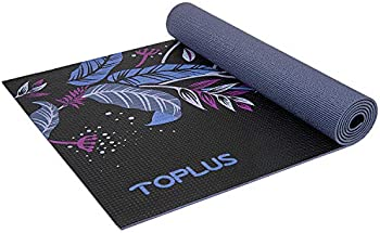 Toplus 1/4 inch-1/8 inch Non-Slip Eco Friendly Exercise & Workout Mat