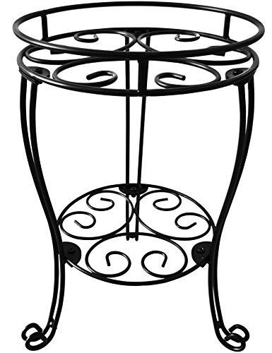 TREEZITEK 18.9inch Height Plant Stand for Flower Pot Heavy Duty Potted Holder Indoor Outdoor Metal...