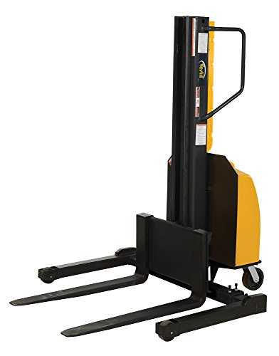 Vestil SLNM-118-AA Stacker Power Lift Adjustable Fork, 1500 lb. Capacity, 65.5