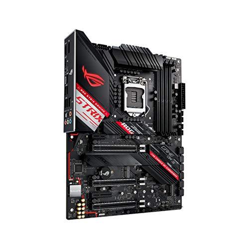 ASUS ROG Strix Z490-H Gaming Z490 LGA 1200 (Intel 10th Gen) ATX Gaming Scheda madre (12+2 fasi di alimentazione, DDR4 4600, Intel 2,5 Gb Ethernet, USB 3.2 Gen 2, Aura Sync)
