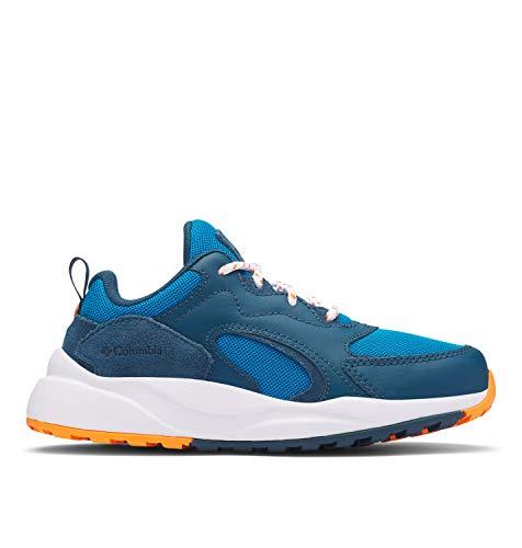 Columbia Youth Pivot, Sneaker para niños, Azul (Pool/Valencia 421), 25 EU