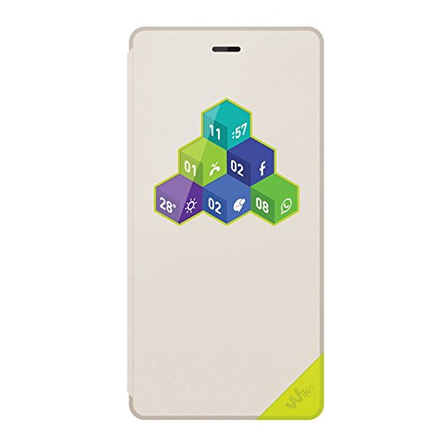 Wiko Original Robby WiCube Flip Cover weiß