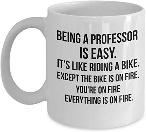 Being a Professor is Easy, Funny Professor Mug, Graduation mug, Gift for New Professor, Funny...
