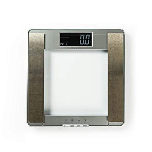 Nedis - Body Mass Index (BMI) Weegschaal - 10 gebruikersprofielen - Gehard glas - 1,5