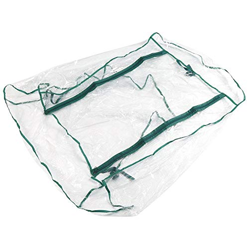 Fdit Transparent Plant Greenhouse Warm Cover Waterproof for Indoor Green Plant Bonsai (27.17 x 19.27 x 36.22 inch) (Height:36.22 inches)