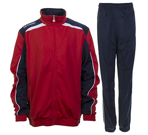 Lotto Suit Assist Pl Cuff Junior, Unisex - Kinder, Gr. XS jr (US), Flame/Navy