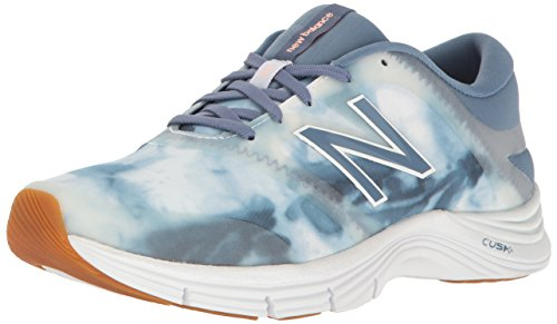 New Balance Women's 711 V2 Cross Trainer, Deep Porcelain Blue/White, 8.5 B US