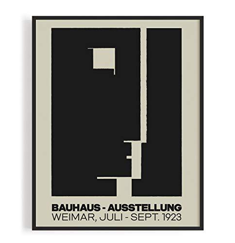 Bauhaus Plakat Aussellung 1923 - DIN A2 Poster Ungerahmt Reproduktion 250 g/m² Matt