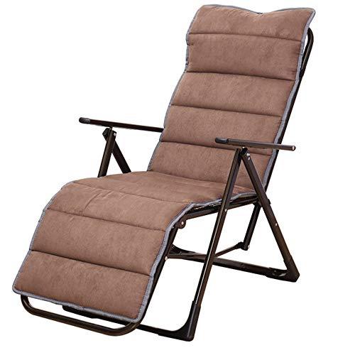 ZMXZMQ ZMXZMQ Abnehmbare Wildlederkissen, Faltbare Schwerelosigkeit Stuhl Sitzkissen Pad, Indoor/Outdoor Lounge Kissen, (Wildlederkissen, Kaffee Farbe)