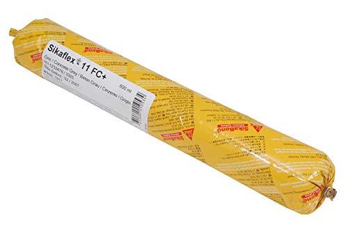 Sikaflex 11 FC+, Adhesivo multiusos y sellador de juntas elástico, Blanco, 600ml
