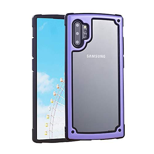 ZHYLIN Telefoonhoesje Nieuwe Samsung S8 S9 S10 Plus Telefoonhoesje Shatter Resistant Schokbestendig Telefoonhoesje Voor Samsung Note8 Note9 Note10 Plus Mode Snoep Kleur Mobiele Telefoonhoesje Back Cover, Achterzijde, Samsung Note8, Paars