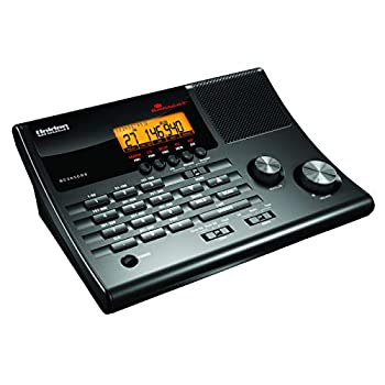 500-Channel Police Radio Scanner and Alarm Clock: photo