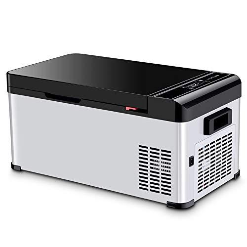 Lijing Mini-koelkast, draagbaar, compact, laag stroomverbruik, voor auto-koelkast, 12 V, 24 V, voor alle soorten auto's, camping, kantoor, reizen