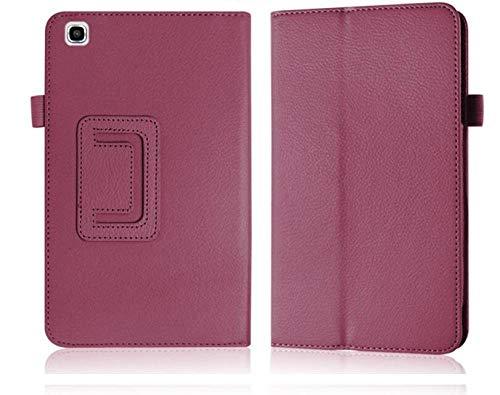 Funda de piel sintética para tablet Samsung Galaxy Tab 3 de 8,0 pulgadas T311 T315 T315, color morado