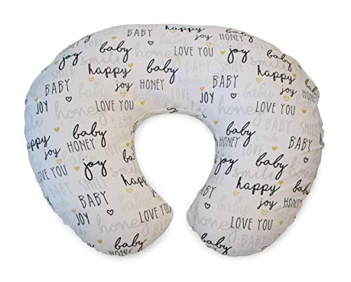 Chicco Boppy Nursing Pillow for Infants 0+ Months, Ergonomic Shape with Miracle Middle Insert - Nursing Pillow and Baby Nest for Breastfeeding and Bottle Feeding