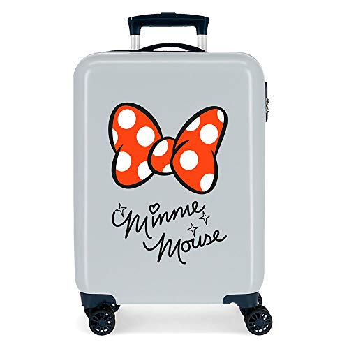 Disney Good Vives Only Cabin Suitcase Blue 38 x 55 x 20 cm Rigid ABS Side Combination Closure 34L 2.7 kg 4 Wheels Double Hand Luggage