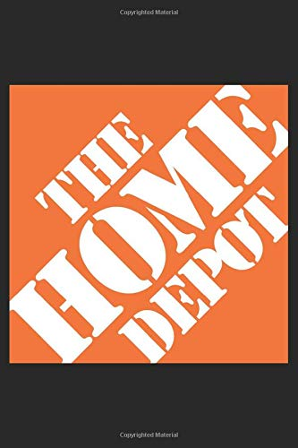 The Home Depot: 120 sited Notebook (6x9 inches dotted paper)