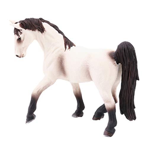 TOYANDONA Solide Miniatuur Paard Beeldjes Ornamenten Wildlife Model Bos Feestartikelen Voor Fee Tuintafel Home Decoraties Kinderen Speelgoed