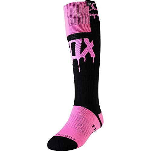 Fox Socks Lady MATA Drip Mx Black/Pink Os