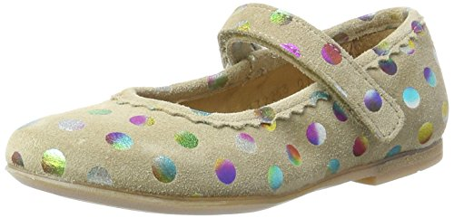 Bellybutton Kinder Ballerina 772253 01, Mehrfarbig (taupe combi), 28 EU