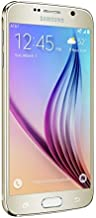Samsung Galaxy S6 G920v 32GB Verizon Wireless CDMA Smartphone - Gold Platinum (Renewed)