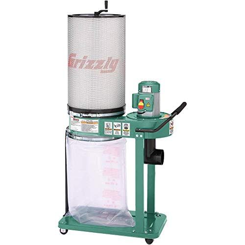 Grizzly Industrial G0583Z - 1 HP Canister Dust Collector