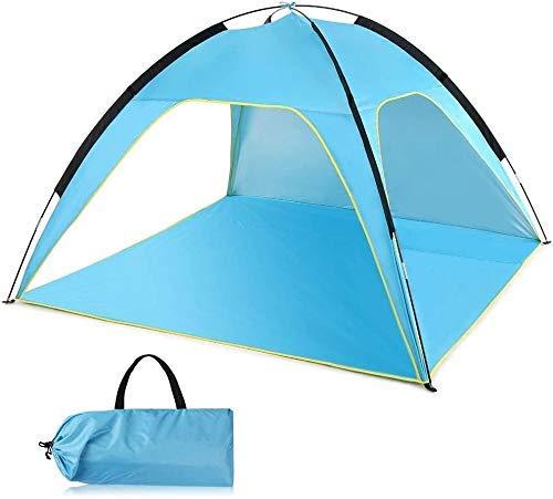 NLRHH Pop Up Camping Beach Tienda Camping Tienda Campaña Profesional A Prueba de Impermeables Pesta Mochilero Ligero Tienda Adecuado for Glamping, Senderismo Protección contra UV Impermeable Peng