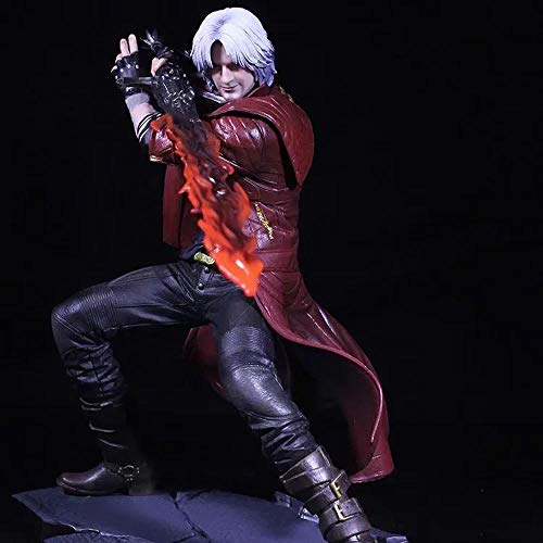 Devil May Cry 5 Juego Anime Figura Nero Dante Muñeca Modelo Decoración Estatua Juguetes 25cm A