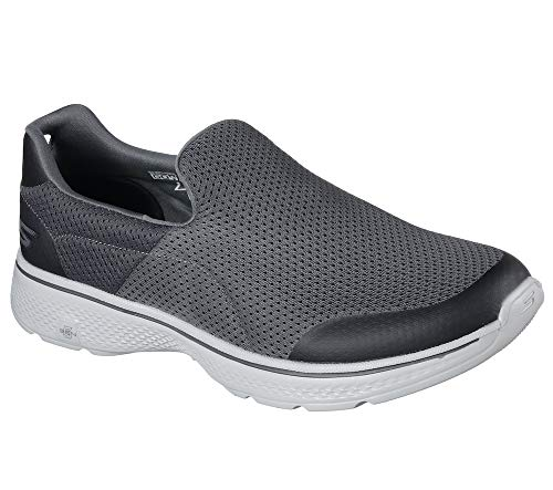 Skechers Performance Men's Go Walk 4 Incredible Walking Shoe, Charcoal, 10.5 M US