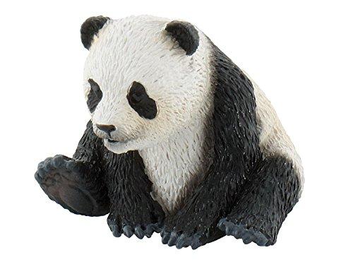 Bullyland 63679 - Spielfigur, Pandajunges, ca. 3 cm groß, liebevoll handbemalte Figur, PVC-frei, tolles Geschenk für Jungen und Mädchen zum fantasievollen Spielen