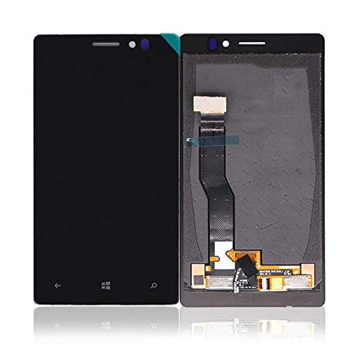 un known Sostituzione Rimovibile LCD digitalizzatore for Nokia Lumia 925 Display e Sostituzione Assemblea di Schermo di Tocco (Color : Black, Size : 4.5')