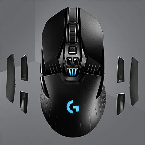 Logitech G903 Lightspeed kabellose Gaming-Maus + Powerplay Wireless Charging Gaming Mouse Pad (für Logitech G903 und G703)