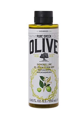 Korres OLIVE & LIME Duschgel, 1er Pack (1 x 250 ml)