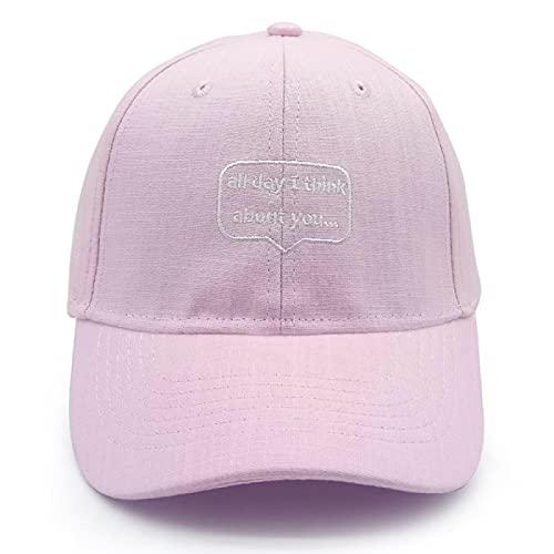 Sombrero Gorra De Béisbol Clásico Letras Bordadas Gorras Amante Hombres Mujeres Gorra De Béisbol Gorra Snapback Sombrero