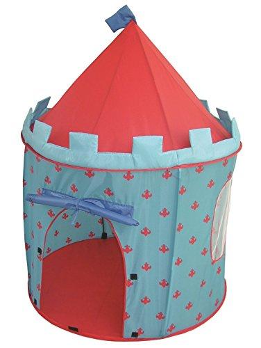 roba Spielzelt, Kinderzelt 'Ritterburg', Spielhaus aus Stoff, inkl. Tasche