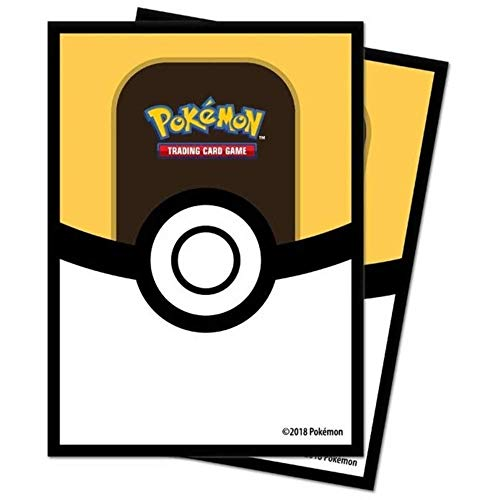 Pokémon 85459 Pokemon Ultra Ball Standard Card Sleeves, Multi-Colour