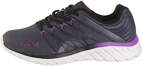 Fila Memory Shadow Sprinter 4 Ombre Blue/Black/Purple Womens Athletic Shoe Size 7M