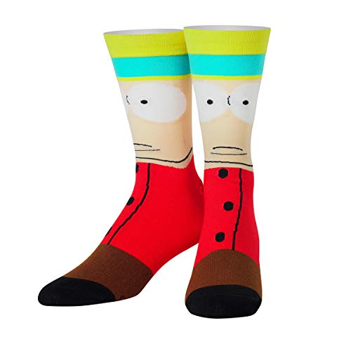 ODD SOX Unisex Crew-Socken - Eric Cartman (South Park)-(Größe: 38-46)