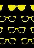 igsticker ポスター ウォールステッカー シール式ステッカー 飾り 1030×1456㎜ B0 写真 フォト 壁 インテリア おしゃれ 剥がせる wall sticker poster 012649 サングラス 黒 黄色