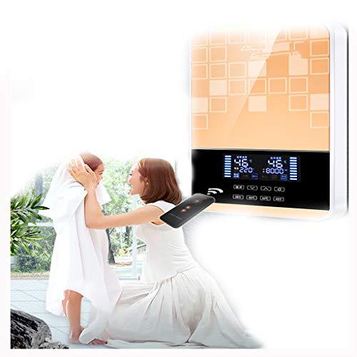 haozai Warmwasserbereiter Gas Propan Durchlauferhitzer Tankless Instant Boiler Mit Duschkopf Und LCD Display (Wandmontage)