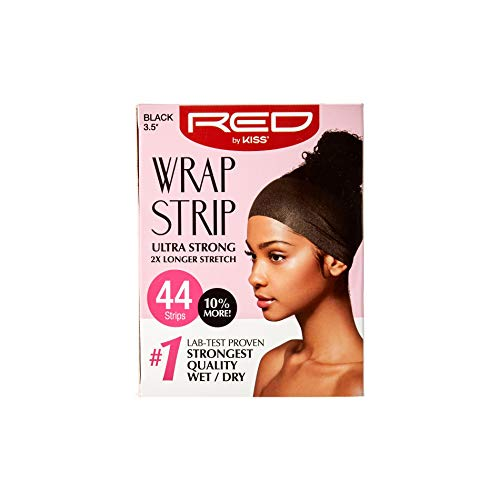Red by Kiss Wrap Strip, Ultra Strong 2X Longer Stretch, 44 Strips