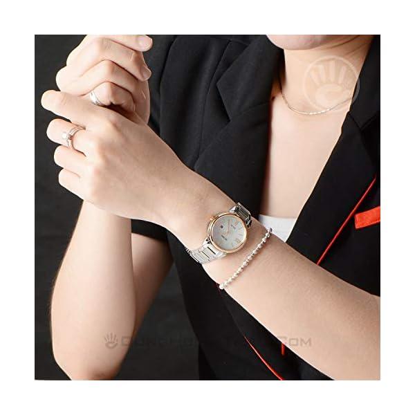 Seiko Reloj Analógico para Mujer de Cuarzo con Correa en Acero Inoxidable