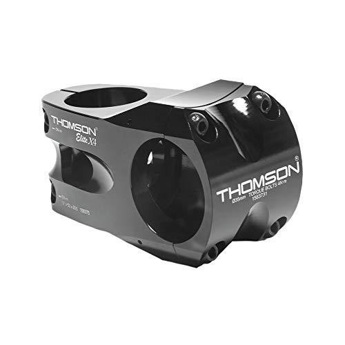Thomson A-Head stuurpen Elite X4 zwart 1-1/8' x 0° x 50mm x 35 mm stuur, zwart (1 stuks)