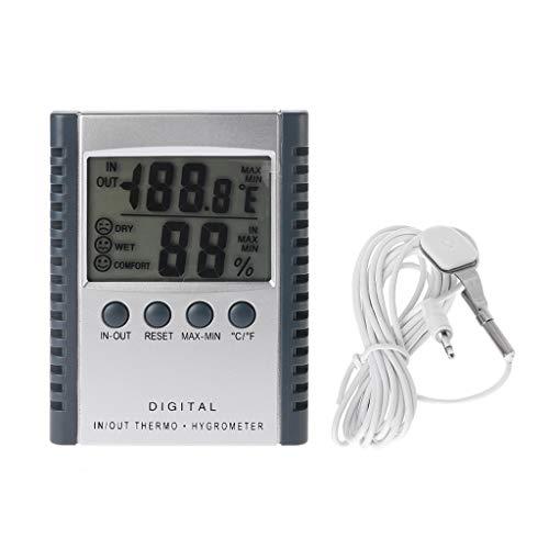 Digitale binnen- en buitenthermometer luchtvochtigheidsmeter HC520 weerstation met sensor