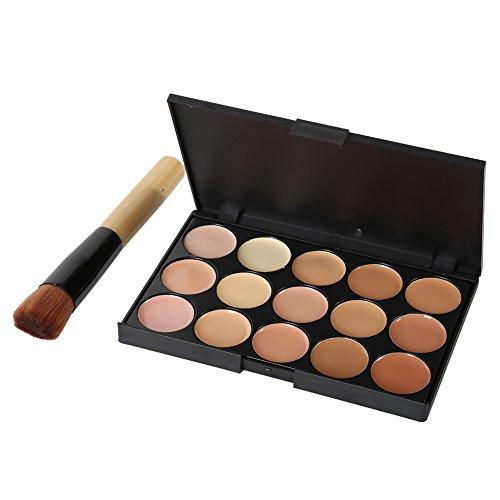 Brightup Correcteur Contour camouflage palette maquillage crème visage yeux brosse de maquillage