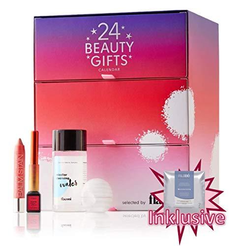 Flaconi Adventskalender 2020 Beauty Gifts für Frauen, idealer Advent Kalender für die Frau, Beautykalender Wert 130 €, 24 Damen Kosmetik