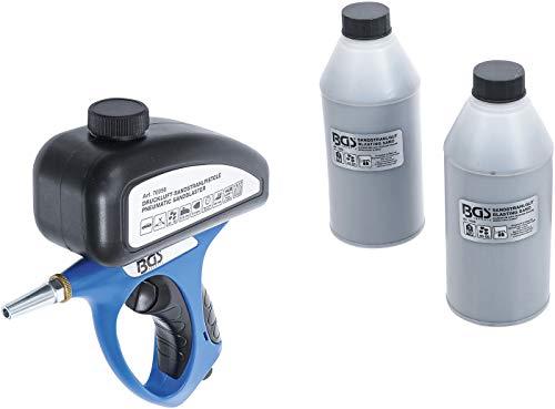 BGS 70056 | Druckluft-Sandstrahlpistole inkl. Zubehör | 3-tlg.